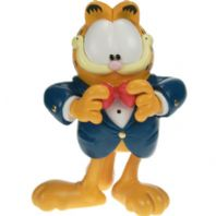 Garfield Wearing  Tux